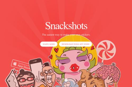 Snackshots app