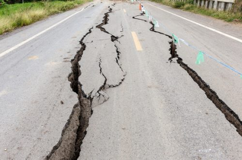 road-crack-earthquake