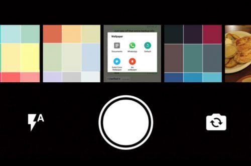 New Whatsapp Camera Design