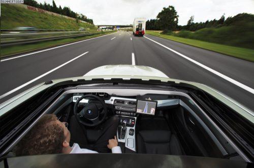 BMW Self Driving Car