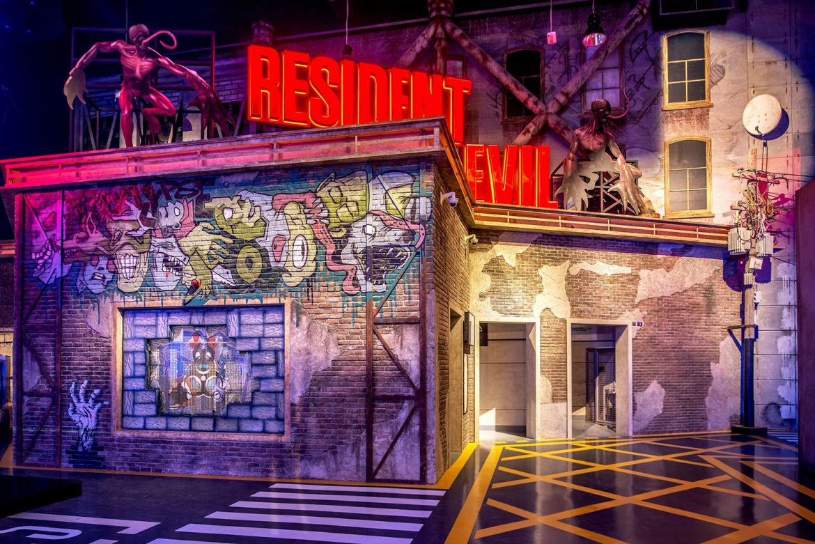 Hub Zero Dubai - Resident Evil Section