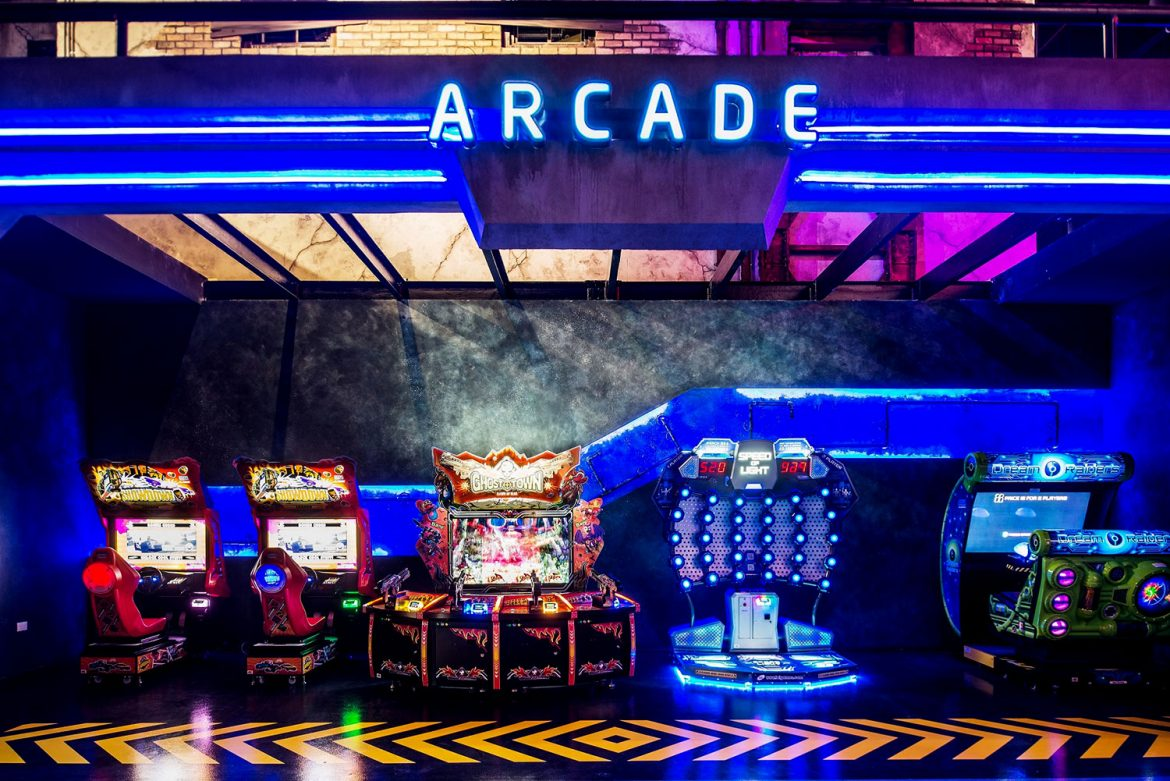 Hub Zero Dubai - Arcade Section